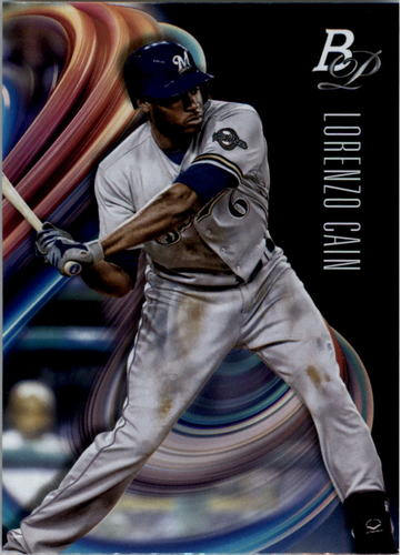 Photo of 2018 Bowman Platinum #5 Lorenzo Cain