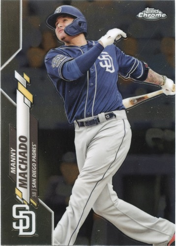 Photo of 2020 Topps Chrome #76 Manny Machado