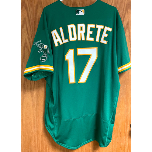 Photo of Mike Aldrete Game-Used 2020 Jersey