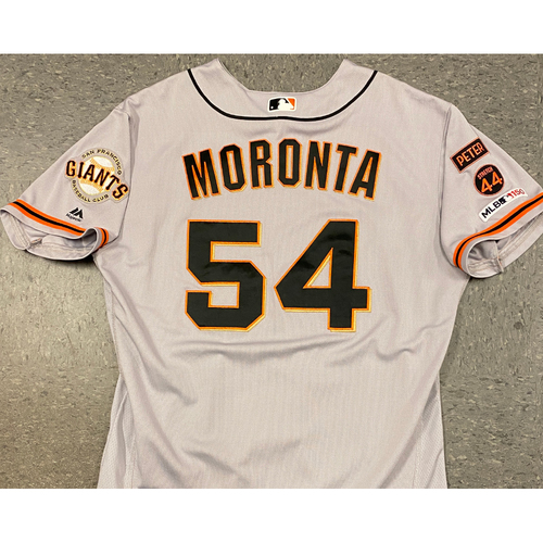 Photo of 2019 Team Issued Road Alt Jersey - #54 Reyes Moronta - Size 50