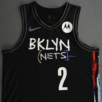 Taurean Prince - Brooklyn Nets - Game-Worn City Edition Jersey - 2020-21 NBA Season