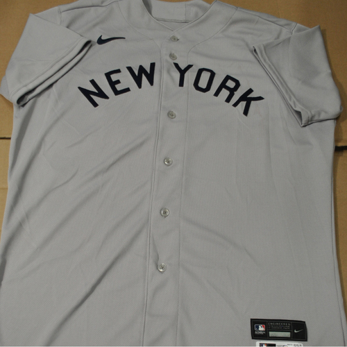 Photo of 2021 New York Yankees vs. Chicago White Sox in Dyersville, Iowa - Game-Used 1919 Throwback Jersey - Phil Nevin - Size 48