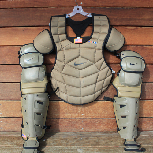 Photo of Team-Issued Catchers Gear