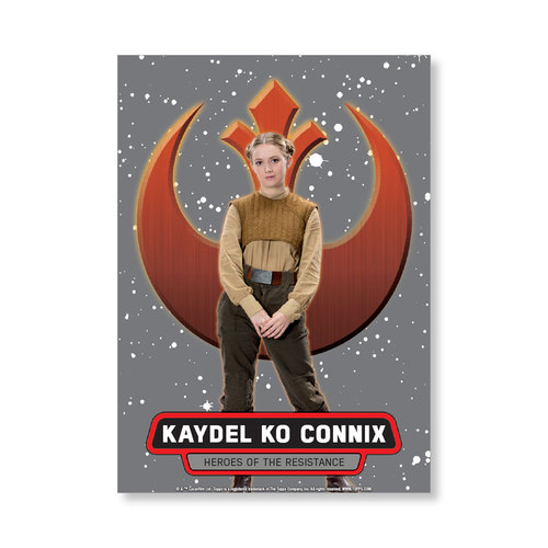 Kaydel Ko Connix 2016 Star Wars The Force Awakens Chrome Metal Poster - # to 99