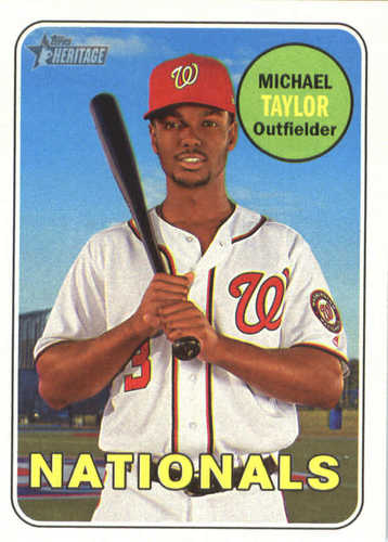 Photo of 2018 Topps Heritage #372 Michael Taylor