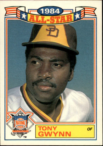 Photo of 1985 Topps Glossy All-Stars #6 Tony Gwynn -- Hall of Fame Class of 2007