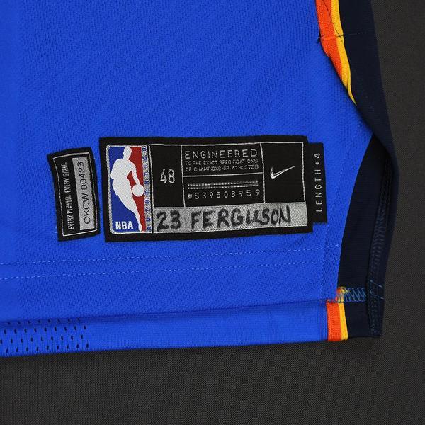 Terrance Ferguson - Oklahoma City Thunder - Game-Worn Rookie Debut ... 4f0e17c80