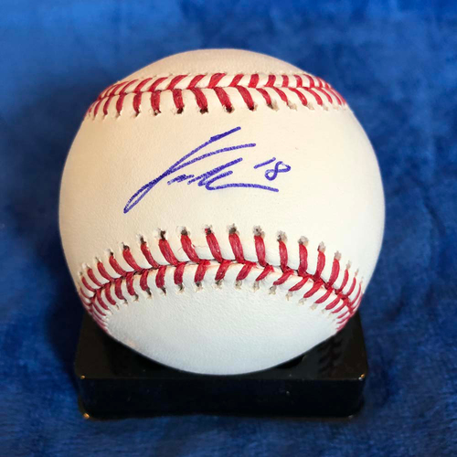 Photo of UMPS CARE AUCTION: Curtis Granderson Signed Baseball