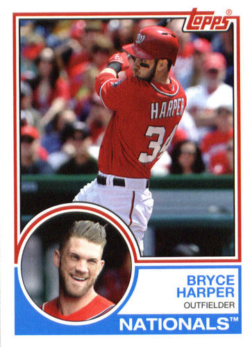 Photo of 2015 Topps Archives #225 Bryce Harper