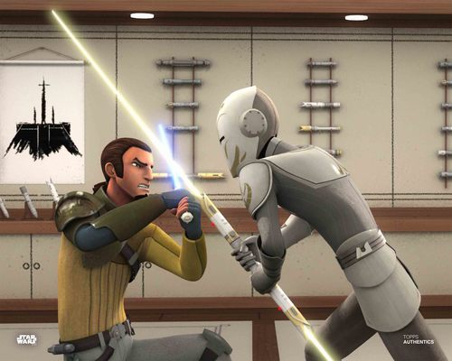 Kanan Jarrus and The Sentinel