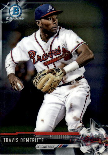 Photo of 2017 Bowman Chrome Prospects #BCP144 Travis Demeritte