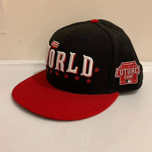 Photo of 2015 All Star Futures Game -  Game Used Cap  - Jarlin Garcia (Miami Marlins) Size - 7 -1/2