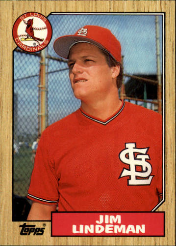 Photo of 1987 Topps Traded #65T Jim Lindeman
