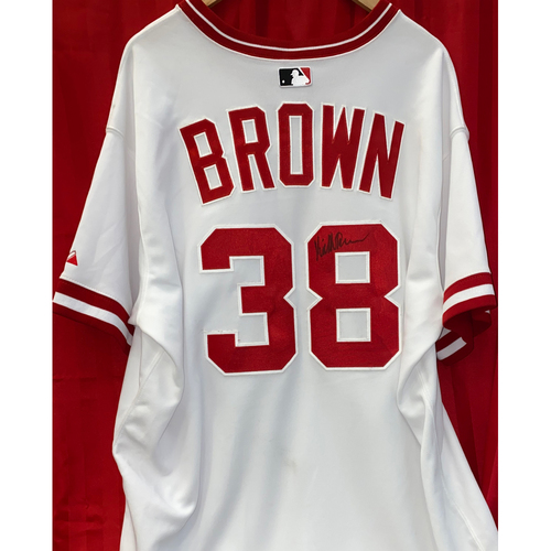 Photo of Keith Brown Signed Jersey