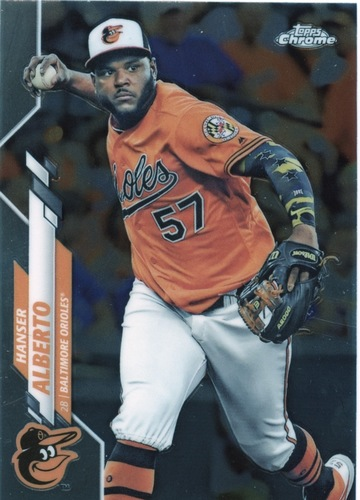 Photo of 2020 Topps Chrome #79 Hanser Alberto