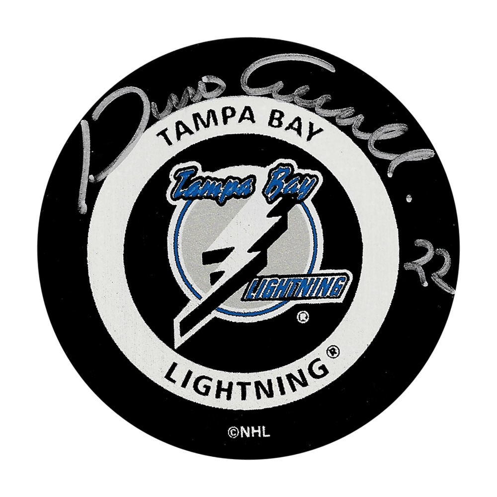 Dino Ciccarelli Autographed Tampa Bay Lightning Official Game Puck
