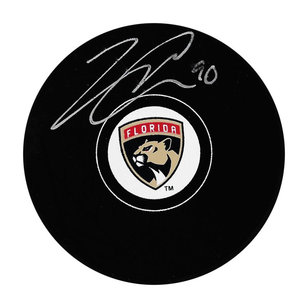 Jared McCann Autographed Florida Panthers Puck