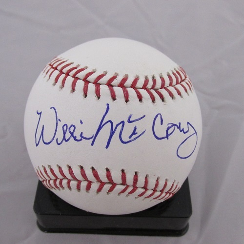 Willie McCovey Autographed Baseball