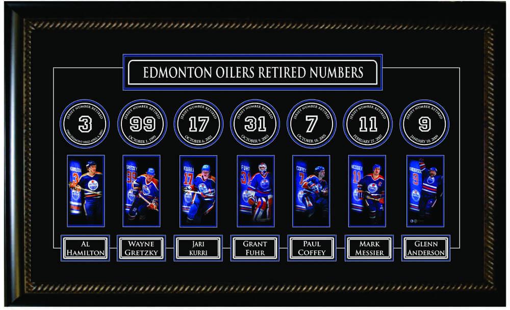 Edmonton Oilers Banner Frame