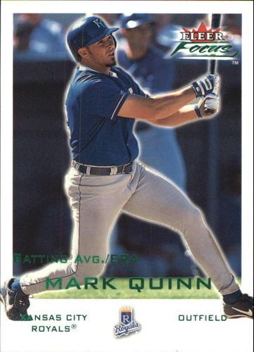 Photo of 2001 Fleer Focus Green #63 Mark Quinn/294