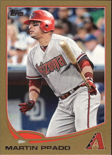 Photo of 2013 Topps Gold #498 Martin Prado