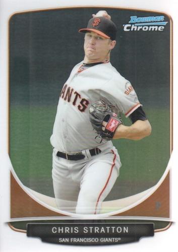 Photo of 2013 Bowman Chrome Prospects #BCP154A Chris Stratton