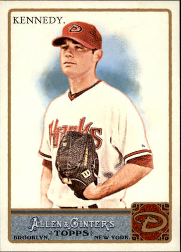 Photo of 2011 Topps Allen and Ginter #163 Ian Kennedy