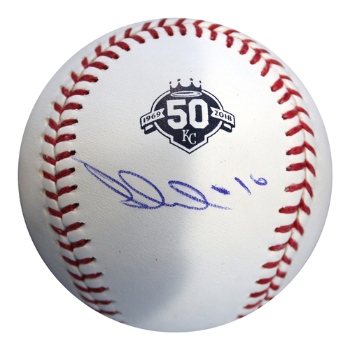 Photo of Autographed 50th Season Baseball: Paulo Orlando