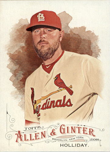 Photo of 2016 Topps Allen and Ginter #144 Matt Holliday