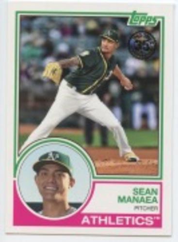 Photo of 2018 Topps Update '83 Topps #8330 Sean Manaea