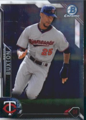 Photo of 2016 Bowman Chrome Vending '16 Bowman #52 Byron Buxton