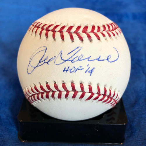 Photo of UMPS CARE AUCTION: Joe Torre Signed Baseball