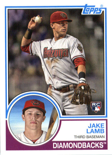 Photo of 2015 Topps Archives #258 Jake Lamb RC