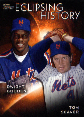 Photo of 2015 Topps Eclipsing History #EH5 Tom Seaver/Dwight Gooden