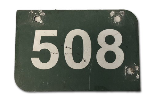 Photo of Wrigley Field Collection -- Aisle Marker 508 -- Removed after 2018 Season