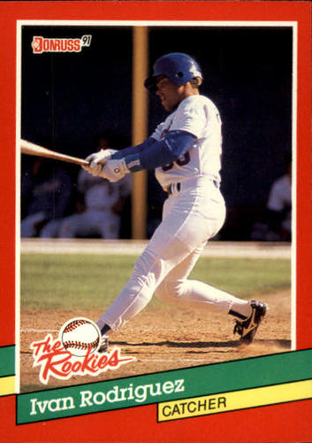 Photo of 1991 Donruss Rookies #33 Ivan Rodriguez RC