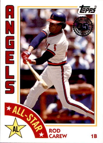 Photo of 2019 Topps '84 Topps All Stars #84ASRC Rod Carew