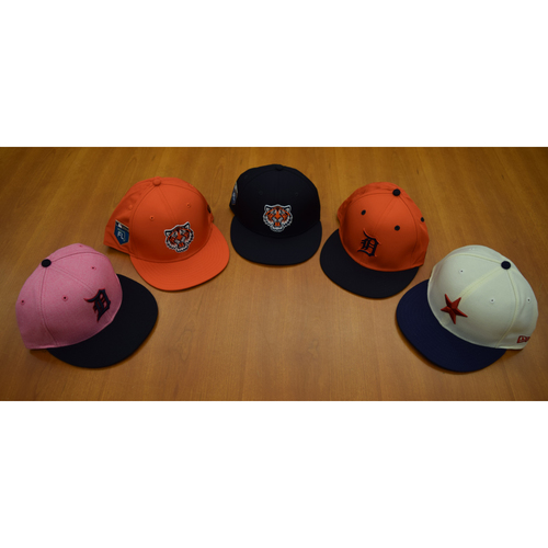 Photo of Detroit Tigers Foundation - Clubhouse Issued Cap Collection #9 (NOT MLB AUTHENTICATED)