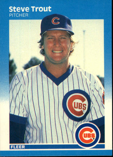 Photo of 1987 Fleer #578 Steve Trout