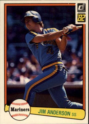 Photo of 1982 Donruss #181 Jim Anderson