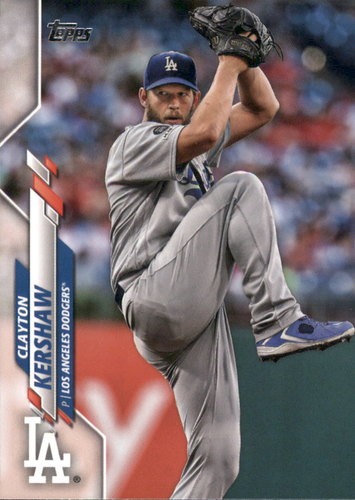 Photo of 2020 Topps #118 Clayton Kershaw