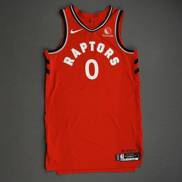 Image of Terence Davis II - Toronto Raptors - Game-Worn Icon Edition Jersey - NBA Japan Games - 2019-20 NBA Season