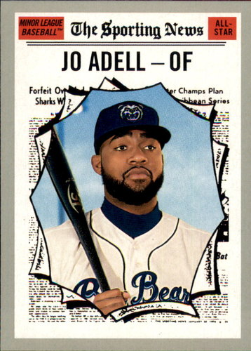 Photo of 2019 Topps Heritage Minors #187 Jo Adell AS