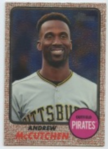 Photo of 2017 Topps Heritage Chrome #THC402 Andrew McCutchen