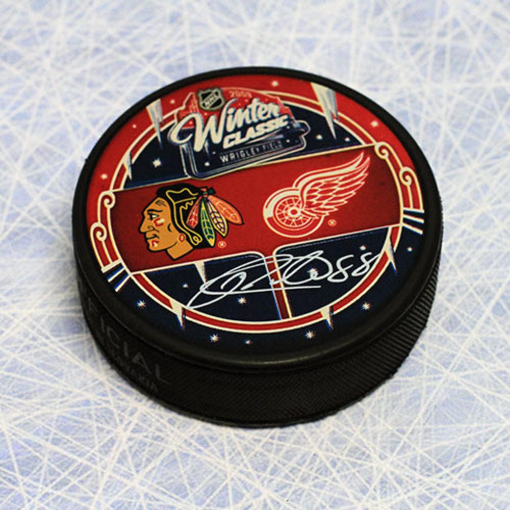 Patrick Kane Chicago Blackhawks Autographed 2009 Winter Classic Puck