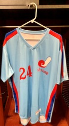 Photo of Jacksonville Expos Fauxback Jersey #24 Size 46