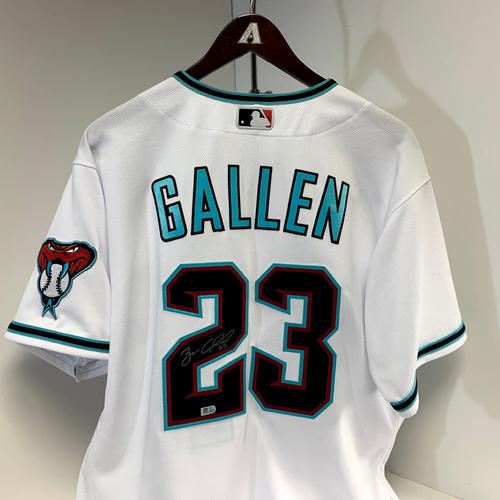 Photo of Zac Gallen Autographed Jersey