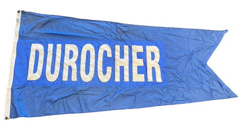 Photo of Wrigley Field Collection -- Rooftop Flag --  Leo Durocher