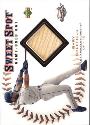 Photo of 2001 Sweet Spot Game Bat #BGS Gary Sheffield
