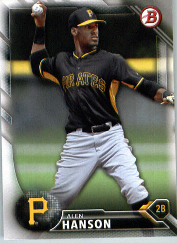 Photo of 2016 Bowman Prospects #BP102 Alen Hanson